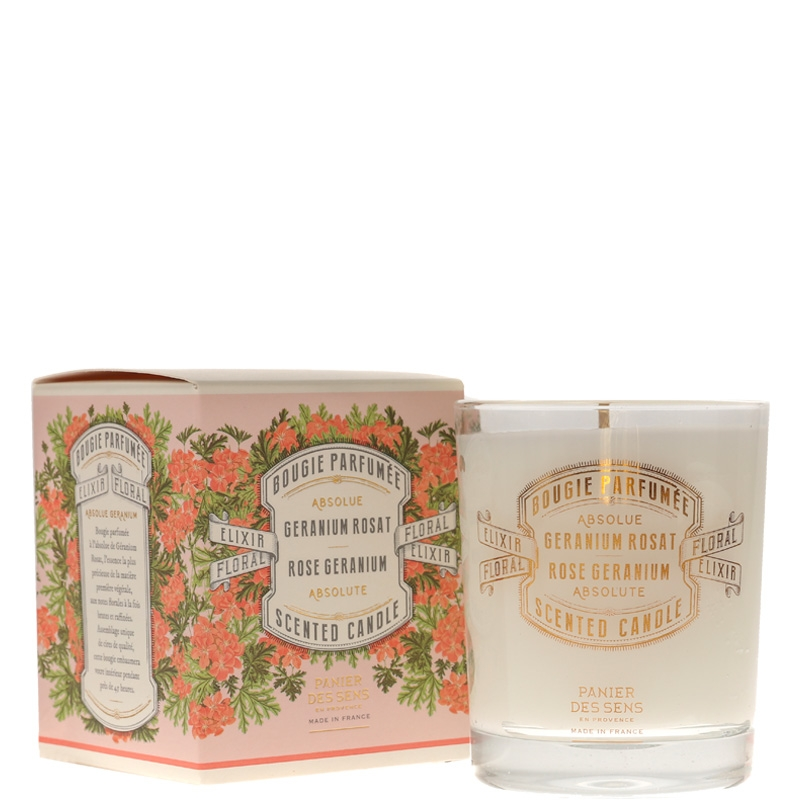 Scented Candle | Rose Geranium
