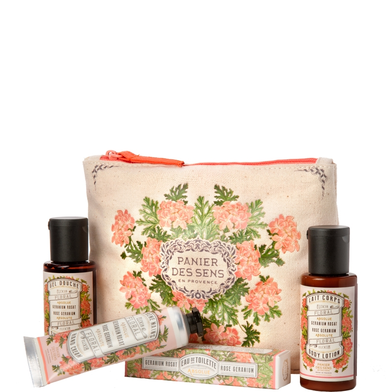 Travel set | Rose Geranium
