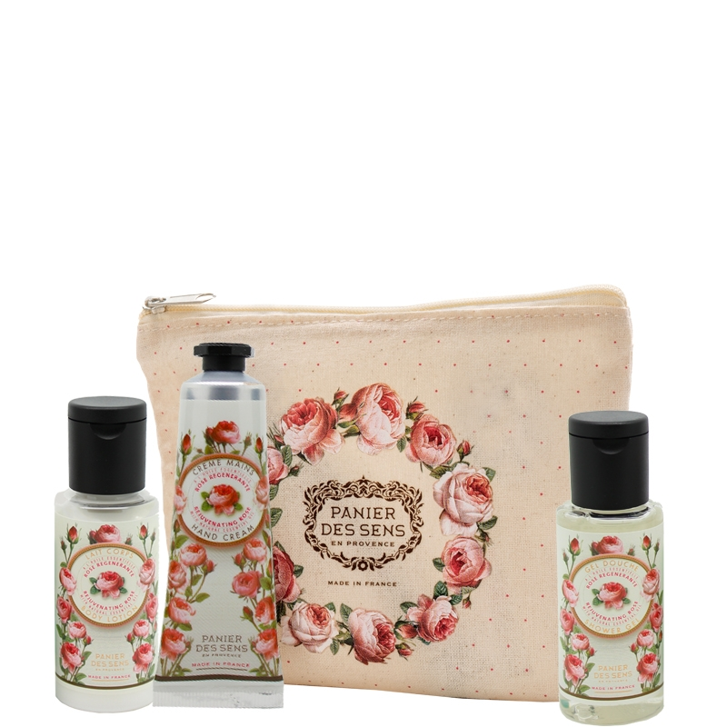 Travel set | Rejunevating Rose