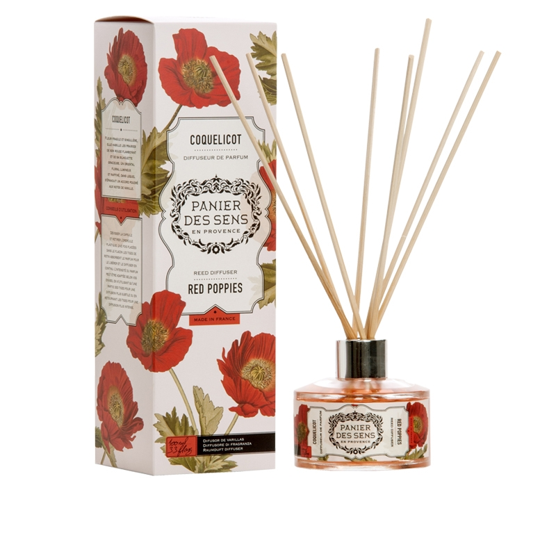 Reed Diffuser | Red Poppies