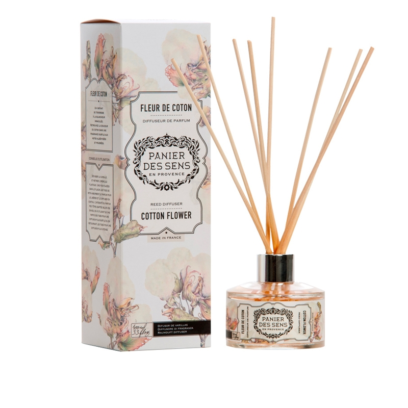 Reed Diffuser | Cotton Flower