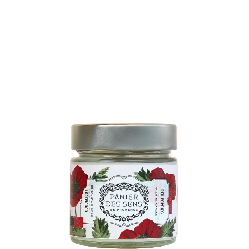 Scented Candle | Red Poppies