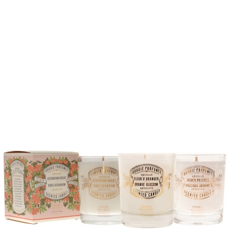 SCENTED CANDLE TRIO WITH...