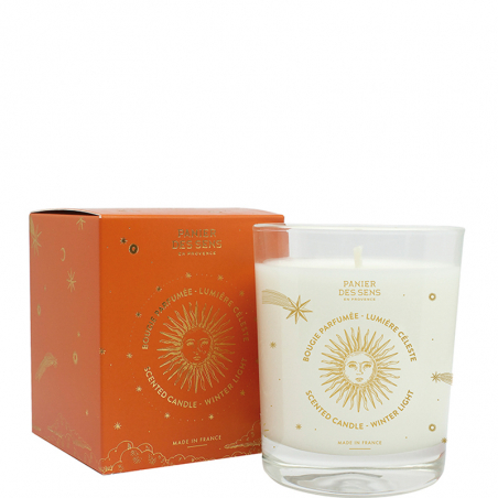 WINTER LIGHT SCENTED CANDLE...
